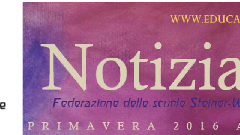 Primavera - Notiziario nr. 15 della Federazione delle Scuole Steiner-Waldorf in Italia