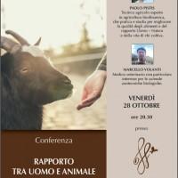 Conferenza - Il rapporto tra uomo e animale in agricoltura