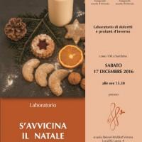 S'avvicina il Natale - Laboratorio di dolcetti e profumi d'inverno