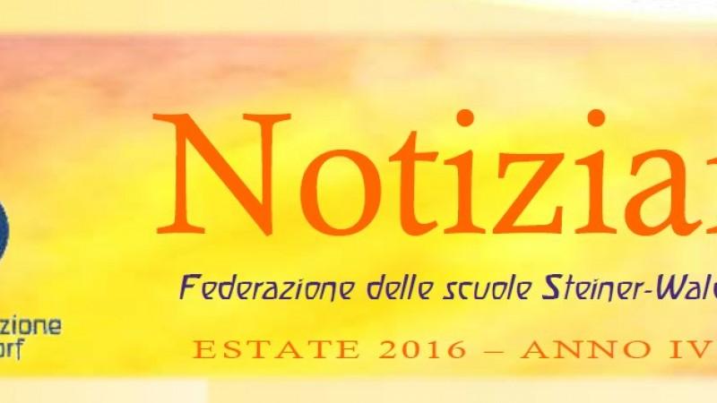 Estate - Notiziario nr. 16 della Federazione delle Scuole Steiner-Waldorf in Italia