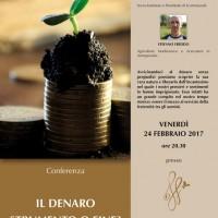 Conferenza - Il denaro: strumento o fine?