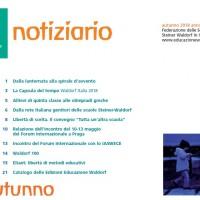 Autunno - Notiziario nr. 25 della Federazione delle Scuole Steiner-Waldorf in Italia