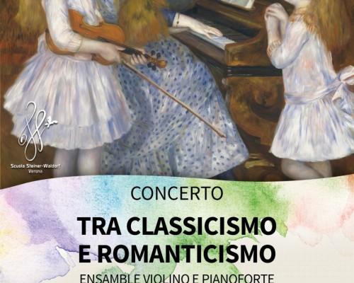 CONCERTO TRA CLASSICISMO E ROMANTICISMO