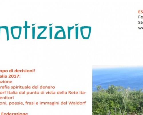 Estate - Notiziario nr. 20 della Federazione delle Scuole Steiner-Waldorf in Italia
