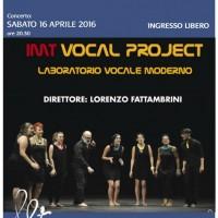 """IMT Vocal Project: Concerto  """"Gocce di Memoria"""""""