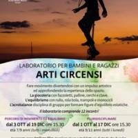 LABORATORIO PER BAMBINI E RAGAZZI ARTI CIRCENSI