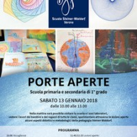 PORTE APERTE SCUOLA PRIMARIA E SECONDARIA