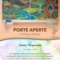 PORTE APERTE SCUOLA - GENNAIO