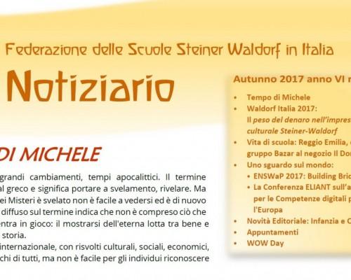 Autunno - Notiziario nr. 21 della Federazione delle Scuole Steiner-Waldorf in Italia