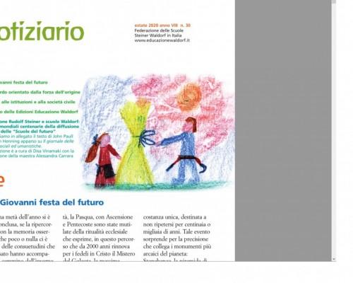 Estate - Notiziario nr. 30 della Federazione delle Scuole Steiner-Waldorf in Italia