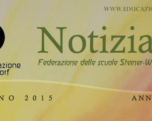 Autunno - Notiziario nr. 13 della Federazione delle Scuole Steiner-Waldorf in Italia