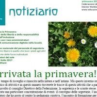 Primavera - Notiziario nr. 19 della Federazione delle Scuole Steiner-Waldorf in Italia