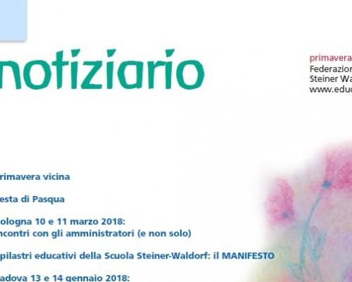 Primavera - Notiziario nr. 23 della Federazione delle Scuole Steiner-Waldorf in Italia