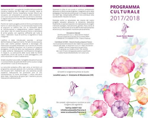 Programma culturale 2017/2018